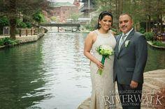Spring 2016 San Antonio Riverwalk Wedding www.MarriageIsland.com  (210) 667-6503