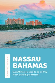 4 Things You Have To Do in Nassau Cruise Port, Cruise Travel, Cruise Vacation, Vacation Spots, Bahamas Vacation, Nassau Bahamas, Travel Hacks, Travel Tips, Empress Of The Seas