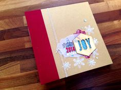 Project Life Hello December journal cover by Sam Bracegirdle (Stampin' Up!)