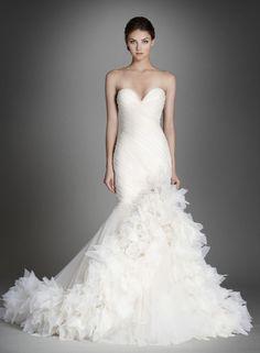 Lazaro wedding dresses - Deer Pearl Flowers / http://www.deerpearlflowers.com/wedding-dress-inspiration/lazaro-wedding-dresses-5/