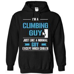 Cool Climbing guy T Shirts, Hoodies. Get it here ==► https://www.sunfrog.com/LifeStyle/Cool-Climbing-guy-1689-Black-12898851-Hoodie.html?57074 $39.99