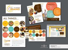 Marketing Design Group for All Things Baking