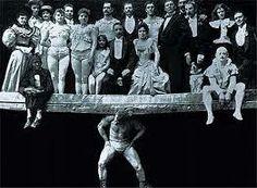 Strongman Eugene Sandow at the 1893 Chicago Worlds Fair.