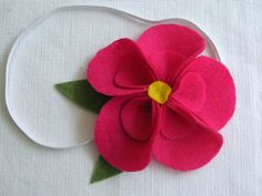 Hibiscus Flores de Feltro