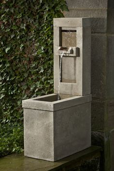 Lucas Fountain, perfect cast stone fountain