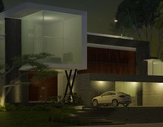 """Check out new work on my @Behance portfolio: """"Residencia 3D Nocturna""""…"""