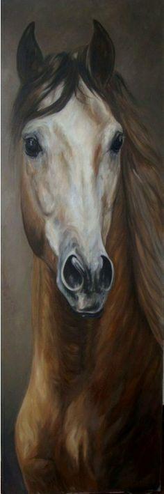 Pintura Moderna al Óleo: Pinturas de caballos