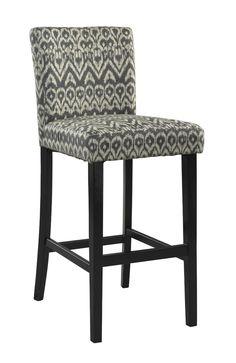 Amazon.com - Linon Home Decor Bar Height Stool Morocco Stool, Driftwood - Barstools