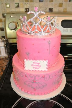 Dylan's Princess Birthday Cake!