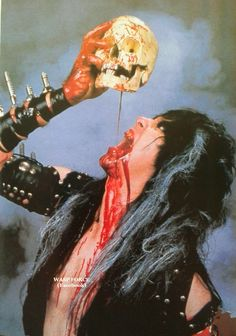The Master Hellion Blackie Lawless of W.A.S.P. #BlackieLawless #wasp