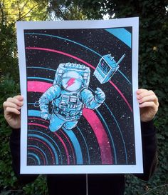 Image of Can You Hear Me Major Tom?... Nevermind. $25. 16 x 20