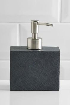 Buy Slate Effect Soap Dispenser from the Next UK online shop