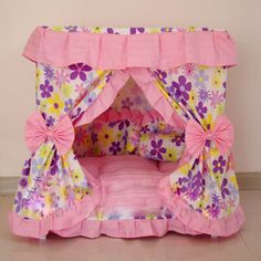 osell wholesale dropship Lovely Custom Pet Princess Beds Dog Houses $46.32