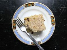 17 Ways to Burn Through a Can of Coconut Milk: Sesame-Topped Semolina Cake with Coconut (Shwekyi Senyinmakin)