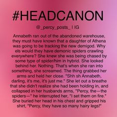 View all 313 photos tagged with #percypostsheadcanons on INK361