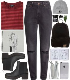 """#348 Egress"" by mia5056 on Polyvore"
