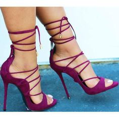 Straps Ankle Wraps Open Toe Back Zipper Stiletto High Heels Sandals – Bags in Cart Platform High Heels, Black High Heels, High Heels Stilettos, Stiletto Heels, Shoes Heels, Pumps, Heeled Sandals, Strappy Shoes, Sandals Outfit