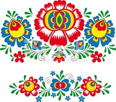 Hungarian Floral Folk Pattern - Kaloscai Embroidery With Flowers And Paprika Stock Illustration - Illustration of culture, frame: 50410139 Mexican Embroidery, Folk Embroidery, Learn Embroidery, Embroidery Stitches, Embroidery Patterns, Machine Embroidery, Bordado Popular, Stock Foto, Bird Patterns