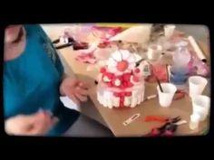 Corso sviluppo torta caramelle