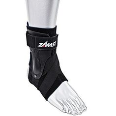Zamst A2-DX Ankle Brace, Black, Small, Right, Ankle Guard, Ankle Support
