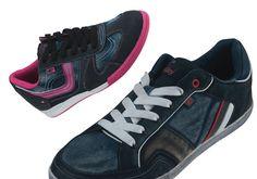 Der schnelle und einfache Einstieg bei diesen beiden Modellen sorgt für mehr Flexibilität und höchsten Komfort. Hier ein Ausblick auf zwei schöne Modelle für Frühjahr/Sommer 2013. ConWay, Damen Sneaker – Caro – pink; & ConWay, Herren Sneaker – Dennis – blau;