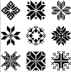 Scandinavian Christmas stars for a cross stitch or knitting project Cross Stitching, Cross Stitch Embroidery, Cross Stitch Patterns, Folk Embroidery, Star Patterns, Christmas Knitting, Christmas Cross, Christmas Stars, Snoopy Christmas