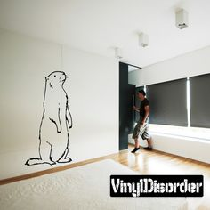 Beaver Wall Decal - Vinyl Decal - Car Decal - DC001