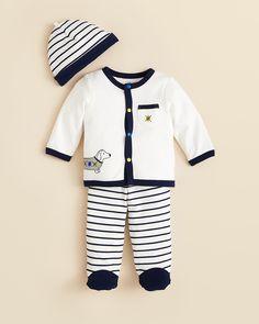 Little Me Infant Boys' Dachshund 3 Piece Set - Sizes 0-9 Months | Bloomingdale's