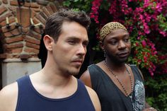 Jesus (Kevin Alejandro) and Lafayette (Nelsan Ellis) - True Blood