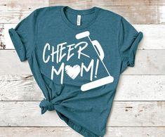 Cheerleading Jumps, Cheerleading Shirts, Cheer Stunts, Cheer Mom Shirts, Football Shirts, Softball Pictures, Cheer Pictures, Cheer Hair, Cheer Bows