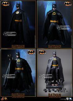 Hot Toys Batman (Tim Burton 1989) Batman (Michael Keaton) 12 30cm Collectible Figurine