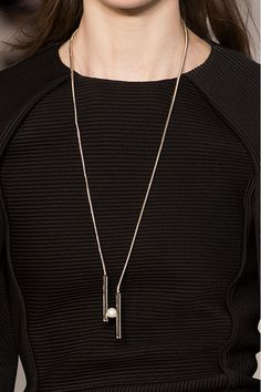Pendant Necklace: The Fall Accessory Trends Every Fashion Girl Should Know via @WhoWhatWear