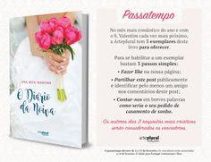 """Bloguinhas Paradise: Passatempo Bertrand Editora - """"O Diário da Noiva"""",..."""