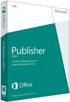 Microsoft Publisher 2013 (32-Bit/64-Bit) 1 Pc - Retail