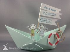 Stampin Up Coupon Boat Trip Spreewald 01 . Stampin Up Coupon Boat Trip Spreewald 01 … Stampin Up Coupon Boat Trip Spreewald 01 More This image has get Diy Gifts For Kids, Presents For Kids, Card In A Box, Stampin Up, Diy And Crafts, Paper Crafts, Explosion Box, Mom Birthday, Creative Gifts