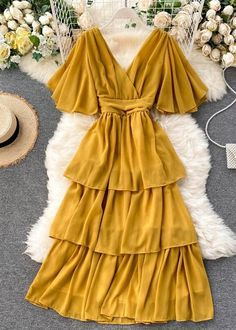 Girls Fashion Clothes, Teen Fashion Outfits, Modest Fashion, Stylish Outfits, Fashion Dresses, Frock For Teens, Casual Dresses For Teens, Trendy Dresses, Frock Patterns
