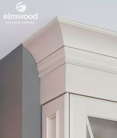 *Moulding Monday* Need to get your crown to the ceiling without a huge crown profile? Use Furniture Base below a crown! Here we have EK346 s...