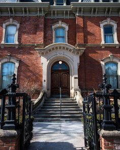 The house of George Brown - a Father of Canadian Confederation & founder of The Globe - in Beverly Street in Toronto.