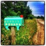 Projet Boîte aux lettres; c'est quoi comme animal? #quebec #nature #countryside #paysage #sky #countryroad #campagne #summer #été