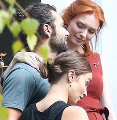 Check out the look between Aidan and Eleanor!                              …