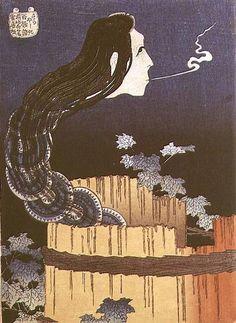 Japanese Ghost | Katsushika Hokusai