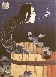 Katsushika Hokusai - Japanese Ghost