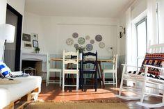 Veja este anúncio incrível na Airbnb: Casa Azul - Nazaré,em frente ao mar - Apartamentos para Alugar em Nazaré