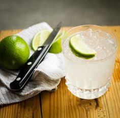 Caprioska...easier, milder alternative to the Caipirinha. Just crushed ice lime juice, simple syrup, and vodka!