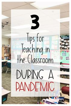 Is your school going to be open for the beginning of the school year? Mine is! Educators around the world are asking: How do we even begin to plan for the coming school year? Here are 3 tips for teaching in the classroom during a pandemic.