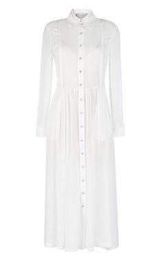 Silk Georgette Barton Dress by Preen for Preorder on Moda Operandi