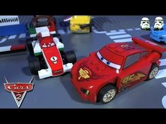 LEGO Cars 2 World Grand Prix Racing Rivalry Lego Disney, Disney Pixar Cars, Lightning Mcqueen, Grand Prix, Racing, Running, Auto Racing