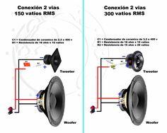 Conexiones muy simples para parlantes, Crossover Pasivo - Taringa!