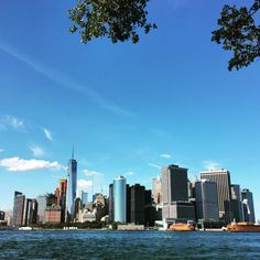 Late summer views of downtown Manhattan New York Christmas, City That Never Sleeps, Dream City, Paris, City Streets, New York City, New York Skyline, Beautiful Places, Places To Visit