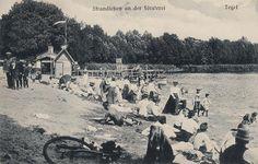 Strandleben an der Försterei, Tegel, 1912.